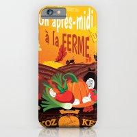 iPhone & iPod Case featuring Un après-midi à la ferme : automne by Jesss