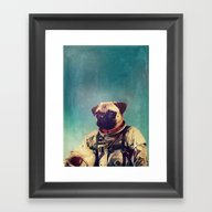 Framed Art Print featuring A Point To Prove by Rubbishmonkey