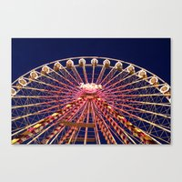 Ferris Wheel. Canvas Print