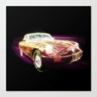 Neon MG - Return of the Retro Canvas Print