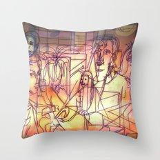 Ukvumi Throw Pillow