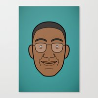 Faces of Breaking Bad: Gustavo Fring Canvas Print