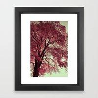 Autumn Blood Framed Art Print