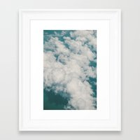 Clouds 2 Framed Art Print