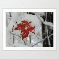 The Last of Autumn 4 Art Print