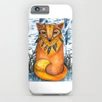 iPhone & iPod Case featuring Fox by Nora Illustration