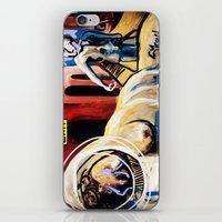 Exit Stage Left iPhone & iPod Skin