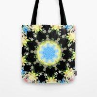 Kaleidoscope 'Twisted Flower' Tote Bag