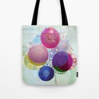 Feeling Groovy Collage Tote Bag