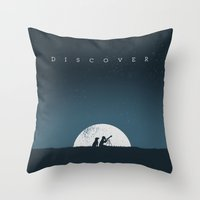 Discover Throw Pillow