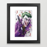 Joker CCXP 2014 Framed Art Print