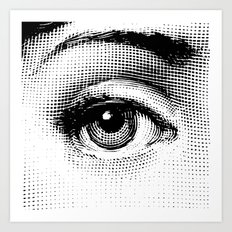 Fornasetti Left Eye Art Print