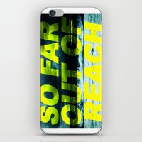 SO FAR OUT OF REACH (Psa… iPhone & iPod Skin