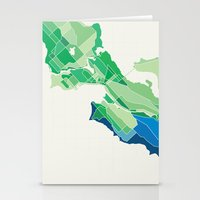 Seattle Colored Stationery Cards