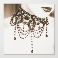 Necklace Canvas Print