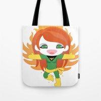 X-man Jean Grey 'Phoenix' Robotic Tote Bag
