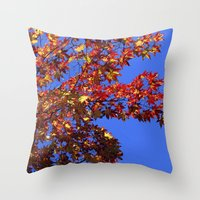 Japanese Maple 2 Throw Pillow