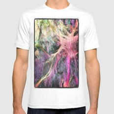 Under The Sea SMALL White Mens Fitted Tee