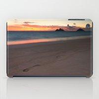 Lanikai Sunrise iPad Case