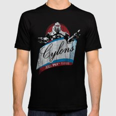 Cylons Huminfectant Spray  SMALL Mens Fitted Tee Black