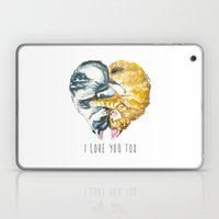 Cats Love . Valentine's … Laptop & iPad Skin