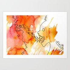 Vibrant Exuberance Art Print