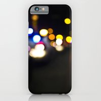 iPhone & iPod Case featuring New York Lights by Julian Clune
