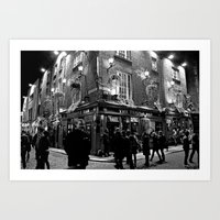 The Temple Bar, Dublin I… Art Print