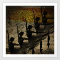 Bailarina, Diz Pra Mim, … Art Print