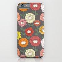 Talking Garden (gray) iPhone 6 Slim Case