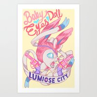 FAIRY GANG Art Print