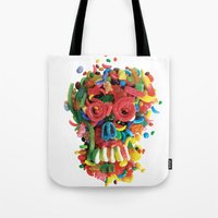 Death And Tooth Decay Tote Bag
