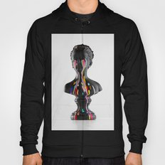 The Girl With Stars In Her Eyes (White Background) Hoody