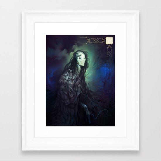 Loreln'widu Framed Art Print