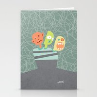 3 Heads Are Better Than … Stationery Cards