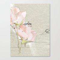 Soft Magnolia Canvas Print