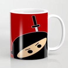 Ninja at Sunset Mug