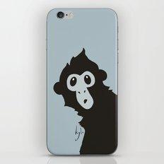 Spider Monkey - Peekaboo! iPhone & iPod Skin