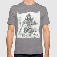 Gwan Gong Mens Fitted Tee Tri-Grey SMALL