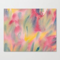 Vibrant summer colour Canvas Print