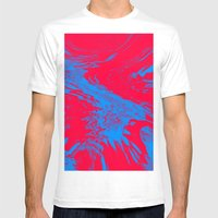 Fire And Ice Mens Fitted Tee White SMALL