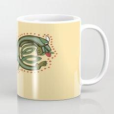 Celtic Dragon Letter X Mug