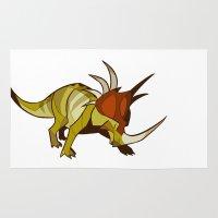 Styracosaurus Rug