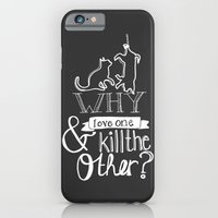 iPhone & iPod Case featuring Erase the Division by Natasha Ramon