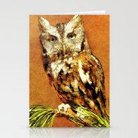 How Now Brown Owl Stationery Cards