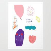 Come And Play Art Print