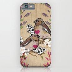 Floral Birds iPhone 6 Slim Case