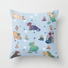 FE - dragons Throw Pillow