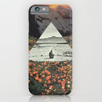 iPhone Cases featuring Harmony with flowers by Mariano Peccinetti Art