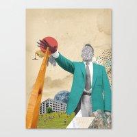 S-OTTO / BELOW Canvas Print